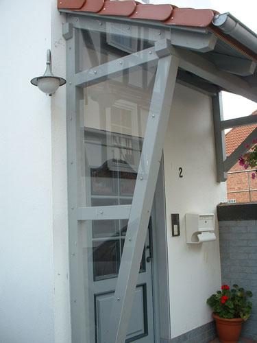 Vordacher Vordach Holz Eingang Vorbau Zimmermeister Reiner